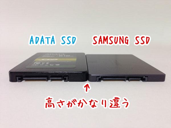 SSDサイズ
