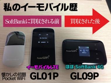 SoftBankに買収された後のEMOBILEは最悪WiMAXが吉