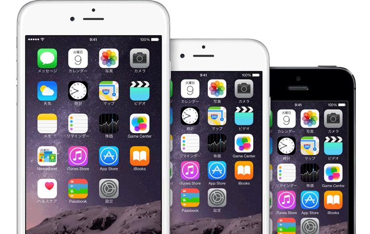 iPhone 6 Plus画面サイズ