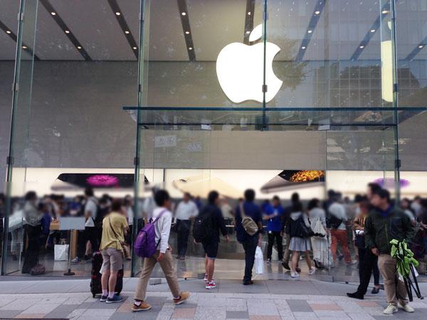 iPhone6表参道Appleストア