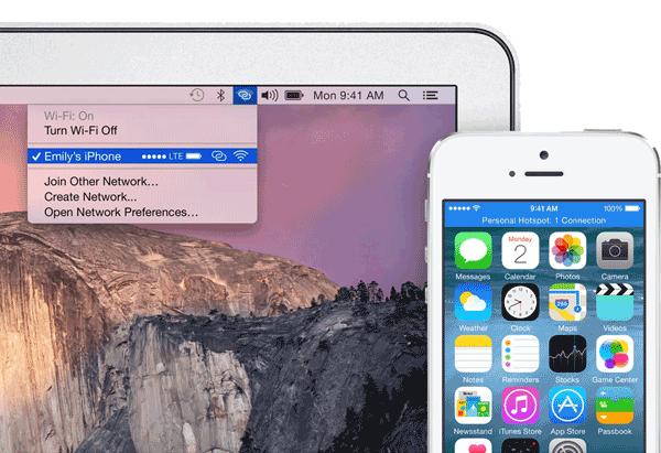Mac & iOS Hotspot
